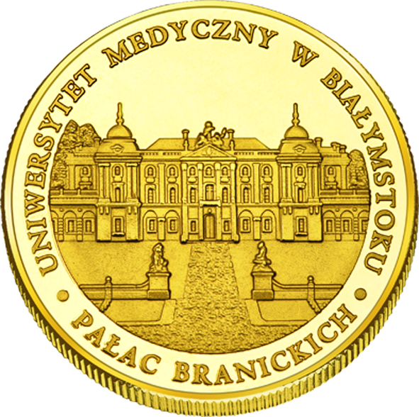 Front side Pałac Branickich w Białymstoku Złote Podlaskie