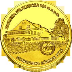 Front side Schronisko górskie PTTK NA MAGURCE w Beskidzie Małym Złote Śląskie