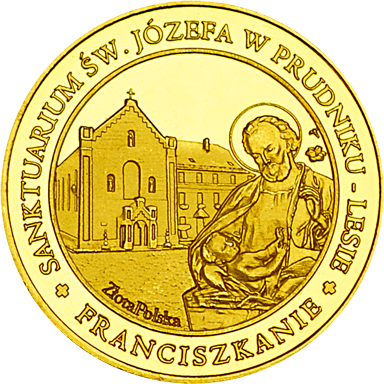 Front side Sanktuarium św. Józefa - Prudnik Las Złote Opolskie