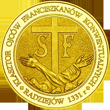 Front side Klasztor Ojców Franciszkanów w Radziejowie Złote Kujawsko - Pomorskie