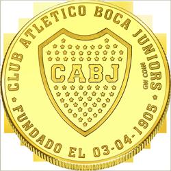 Front side La Boca Caminito Golden Argentina
