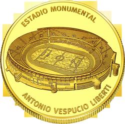 Front side River Plate Golden Argentina