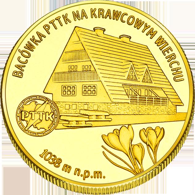 Front side Bacówka PTTK na Krawcowym Wierchu Złote Śląskie