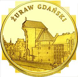 Front side Żuraw Gdański Złote Pomorskie