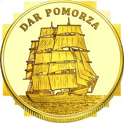 Front side Dar Pomorza Złote Pomorskie