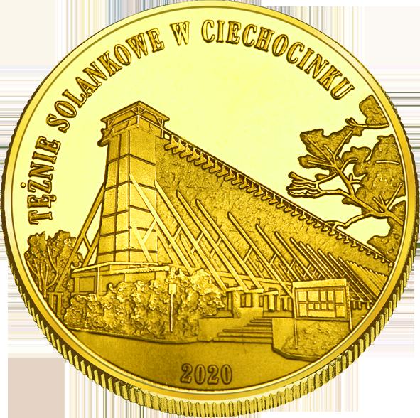Front side Tężnie w Ciechocinku Złote Kujawsko - Pomorskie