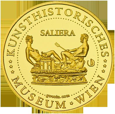 Front side Kunsthistorisches Museum Wien Golden Austria