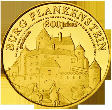 Front side Burg Plankenstein Golden Austria