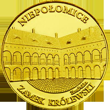 Front side Zamek Królewski w Niepołomicach Złota Małopolska