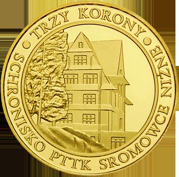 Front side Schronisko PTTK Trzy Korony w Pieninach Złote Małopolskie