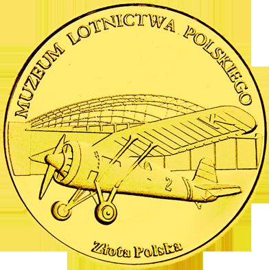 Front side Muzeum Lotnictwa Polskiego w Krakowie Złoty Kraków