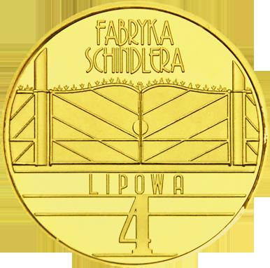 Front side Fabryka Emalia Oskara Schindlera w Krakowie Złoty Kraków