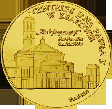 Front side Sanktuarium św. Jana Pawła II w Krakowie Złoty Kraków