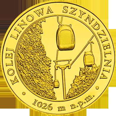 Front side Kolej linowa Szyndzielnia w Bielsku Białej Złote Śląskie