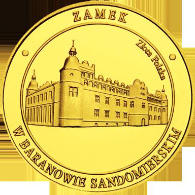 Front side Zamek w Baranowie Sandomierskim Złote Zamki i Pałace