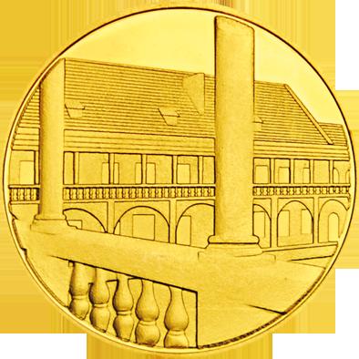 Front side Zamek Piastów Śląskich w Brzegu Złote Zamki i Pałace