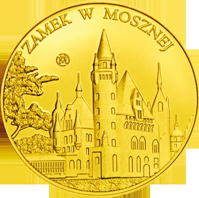 Front side Zamek w Mosznej Złote Zamki i Pałace
