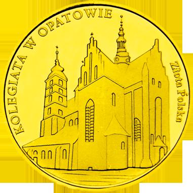 Front side Kolegiata p.w. św. Marcina w Opatowie Złote Świętokrzyskie