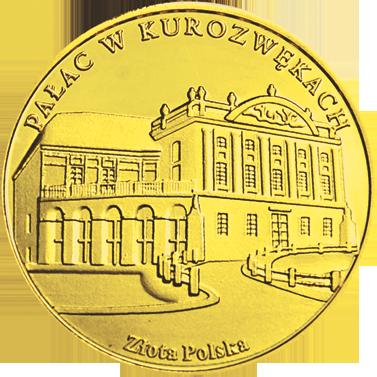 Front side Pałac w Kurozwękach Złote Świętokrzyskie