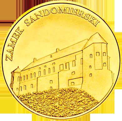 Front side Zamek Sandomierski Złote Świętokrzyskie