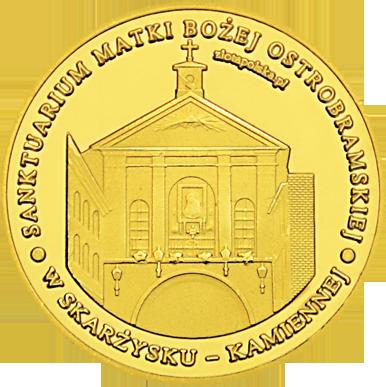 Front side Sanktuarium M.B. Ostrobramskiej w Skarżysku-Kamiennej Złote Świętokrzyskie