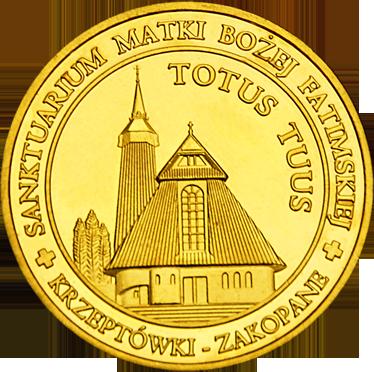 Front side Sanktuarium na Krzeptówkach w Zakopanem Złote Tatry