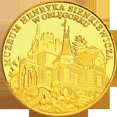 Front side Pałacyk Henryka Sienkiewicza w Oblęgorku Złote Świętokrzyskie