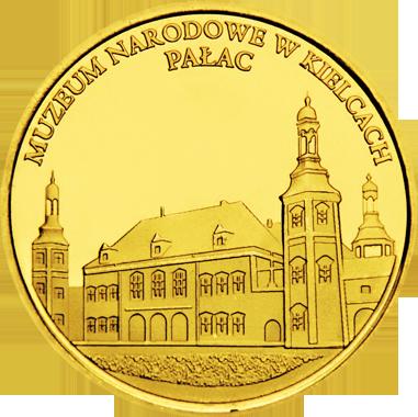 Front side Muzeum Narodowe w Kielcach Złote Świętokrzyskie