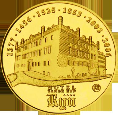 Front side Zamek Ryn Złote Zamki i Pałace