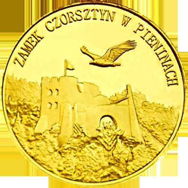 Front side Zamek Czorsztyn Złota Małopolska