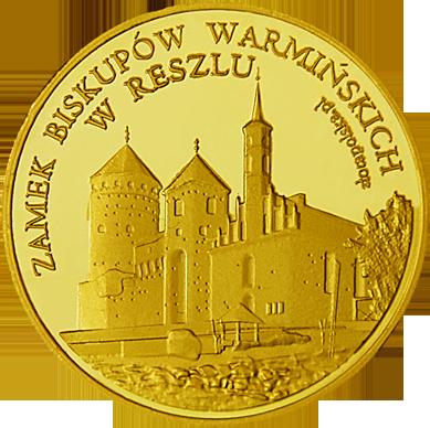 Front side Zamek biskupów Warmińskich w Reszlu Złote Warmińsko-Mazurskie