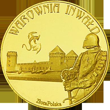 Front side Warownia Inwałd Złota Małopolska