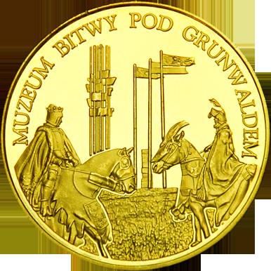 Front side Grunwald - Muzeum Bitwy pod Grunwaldem Złota Warmia i Mazury