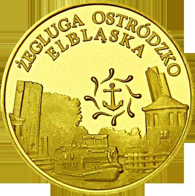 Front side Kanał Elbląski - Elbląg Złote Warmińsko-Mazurskie