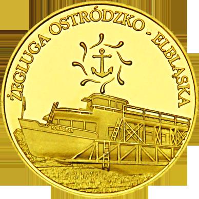 Front side Kanał Elbląski - Ostróda Złote Warmińsko-Mazurskie
