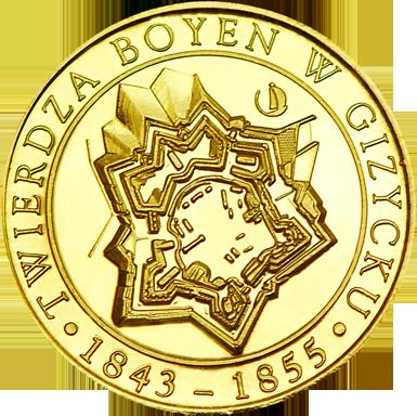 Front side Twierdza Boyen Złote Warmińsko-Mazurskie