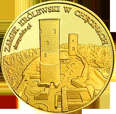 Front side Zamek Królewski w Chęcinach Złote Świętokrzyskie