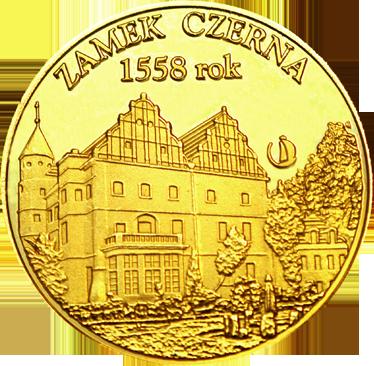 Front side Zamek Czerna Złote Dolnośląskie