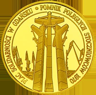 Front side Pomnik Poległych Stoczniowców Złote Pomorskie