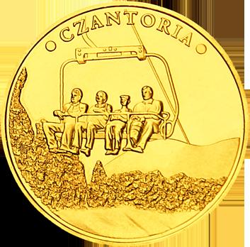 Front side Kolej Linowa Czantoria w Ustroniu Złote Śląskie