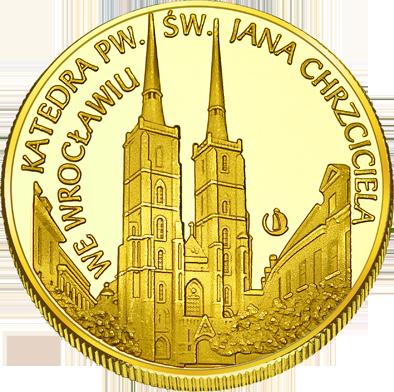 Front side Archikatedra św. Jana Chrzciciela we Wrocławiu Złote Dolnośląskie