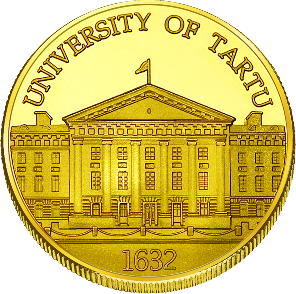 Front side University of Tartu Goldenes Estonia