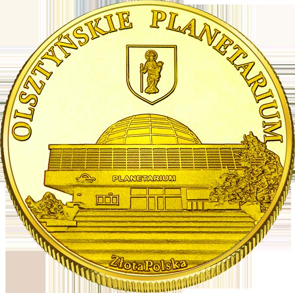 Front side Olsztyńskie Planetarium i Obserwatorium Astronomiczne w Olsztynie Złote Warmińsko-Mazurskie