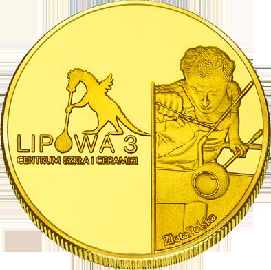 Front side Centrum Szkła i Ceramiki Lipowa 3 Złoty Kraków