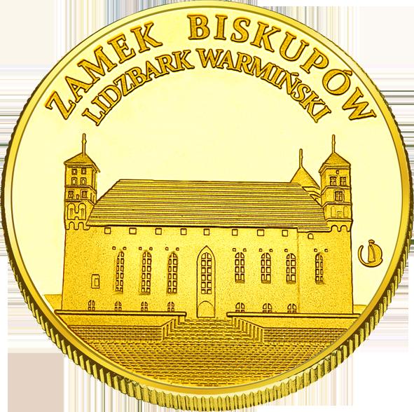 Front side Muzeum Warmii i Mazur - Zamek w Lidzbarku Warmińskim Złote Warmińsko-Mazurskie