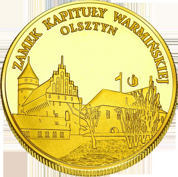 Front side Muzeum Warmii i Mazur - Zamek Olsztyn Złota Warmia i Mazury
