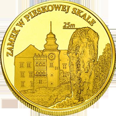 Front side Zamek Pieskowa Skała w Sułoszowej Złote Małopolskie
