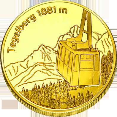Front side Tegelbergbahn Golden Germany