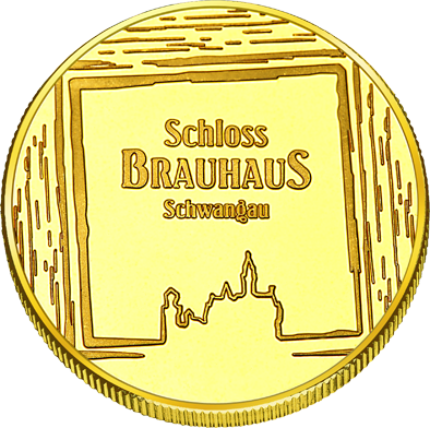Front side Schlossbrauhaus Schwangau Golden Germany