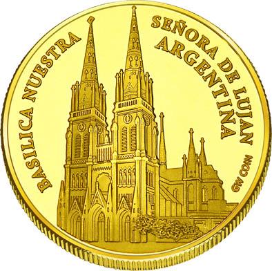 Front side Basílica de Luján Golden Argentina